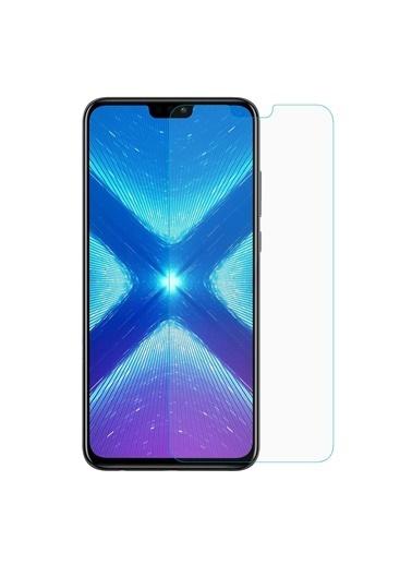 Microsonic Huawei Honor 8X Temperli Cam Ekran Koruyucu Renksiz